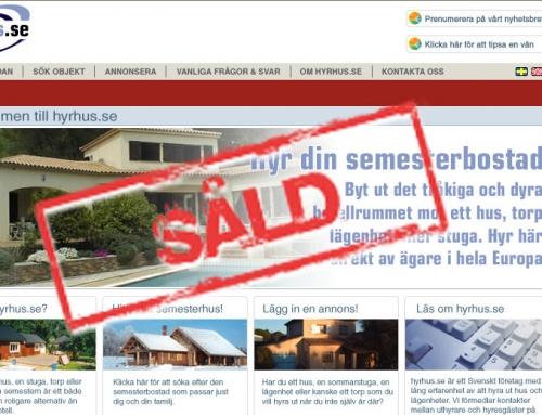 Clever säljer HyrHus.se